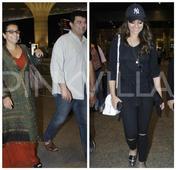 Airport Diaries: Sonakshi Sinha, Vidya Balan, Siddharth Roy Kapur Arrive in Mumbai