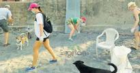 Swedish tourists turn ragpickers on Kovalam beach