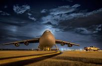 U.K. air force conducts night-flight training in Hungary