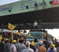 Protest against Dahisar toll plaza leaves motorists confused