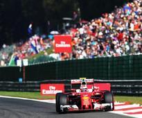 Raikkonen fastest in final Belgian GP practice