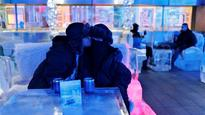 Chill out in sizzling Dubai lounge made entirely of ice