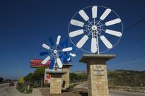 3 Seawater Windmills set up in Anfeh to preserve Salt Extraction Heritage of the region