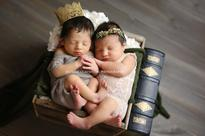 Romeo And Juliet Born Hours Apart In Same Hospital Star In Shakespearean Photos
