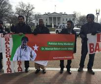 A Protest Outside the White House Highlights Pakistan's Rights Abuses in Balochistan