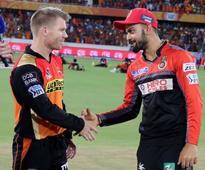 It's Virat Kohli vs David Warner as RCB, SRH eye maiden IPL title