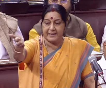 Privilege motion against Sushma for 'misleading information'