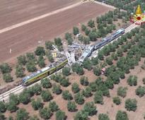 Deadly train crash in Italy