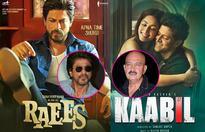 Shah Rukh Khan REACTS to Rakesh Roshan's statement on the Raees  Kaabil clash