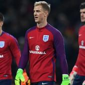 English goalie Joe Hart not worried about defence in absence of Chris Smalling and Gary Cahill