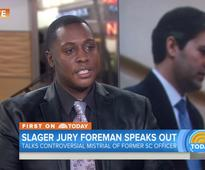 Jury foreman says officer who killed Walter Scott 'didn't do anything malicious'
