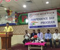 Dammam: ISF holds Independence Day celebration for NRI Indians