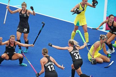CWG: NZ's Nyika, women's hockey team crash hosts' party