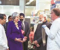 Modi in London: PM woos Indian diaspora, showcases govt's achievements