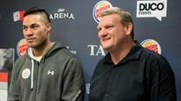Joseph Parker's backers says world title fight in New Zealand makes sense for government partnership