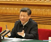 What are people saying about Xi's speech on internet development?