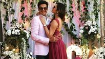 'Madhubala' actress Drashti Dhami shares a kiss of love with hubby Neeraj Khemka on their 3rd wedding anniversary