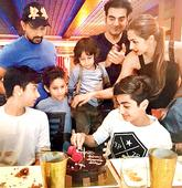 The Khandaan comes together for Malaika and Arbaaz's son's birthday