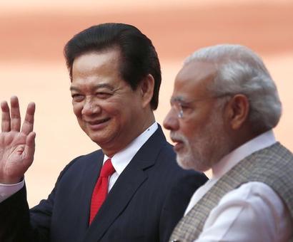 China shadow over Modi's Vietnam visit