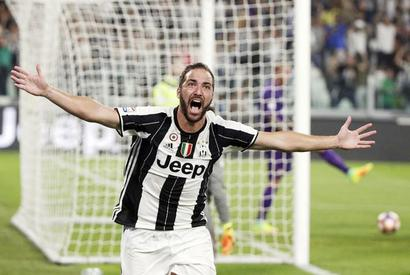 Serie A: Higuain gets Juve going in 2-1 win over Fiorentina