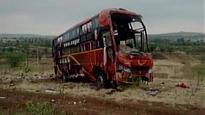 Maharashtra: Nine killed, 12 injured as private bus heading towards Latur overturns