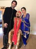 It`s Band Baja Baraat for Sunny`s brother Sundeep and Bride Karishma
