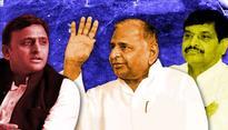 Mulayam, Akhilesh, Shivpal wash dirty laundry in public as Uttar Pradesh watches on