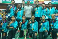 PSPB ground AAI to clinch Senior National Badminton title