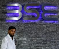 Indian shares end lower, but post weekly gain