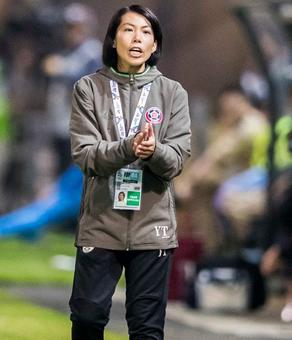 First female coach to lead a men's soccer club hopes to inspire other women