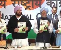 Punjab Congress manifesto: Captain Amarinder's leadership badly needed, says Manmohan Singh; Kejriwal...