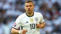 Germany coach Joachim Loew labels Lukas Podolski among all-time greats ahead of his final match