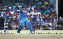 MSD, Hardik star in Indian win