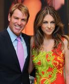 Shane Warne admits ex-fiancee Liz Hurley's close friendship with Hugh Grant was 'hard'