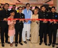 Amitabh Bachchan, Jaya Bachchan inaugurate KalyanJewellers showro...