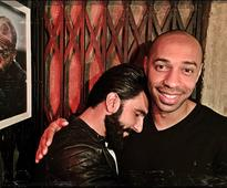 Check out: Ranveer Singh hangs out with Arsenal footballer Thierry Henry