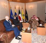 Kuwaiti DM meets with US Amb.