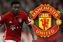 Manchester United eye David Alaba transfer raid after watching both his games in the November international break