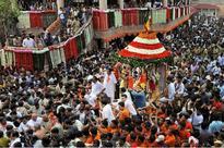 Devotees throng Odisha's Puri as annual Jagannath Rath Yatra begins