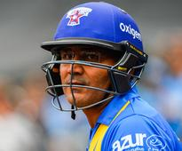 Sing song, see ball, hit ball: Watch Virender Sehwag hum a tune and flick Allan Donald for a six