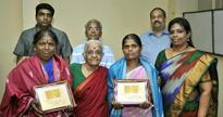 Spark honours conservancy staff in Besant Nagar