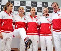 Fed Cup: Martina Hingis Joy as Switzerland Set up Czech Republic Semifinal