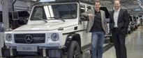 Mercedes-Benz G-Class Milestone: More than 20,000 Units Built in One Year