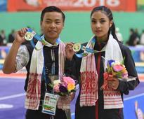 School kids Sinjali, Tamang win silvers in Wushu