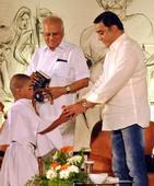 A star's pursuit of Gandhi