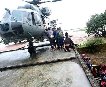 Floods: 10 more NDRF teams for Bihar, Uttar Pradesh