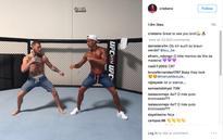 Ronaldo meets UFC star Conor McGregor in US