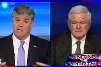 Im thinking maybe we need a new Speaker: Sean Hannity and Newt Gingrich throw a temper tantrum after Paul Ryan refuses to endorse Donald Trump