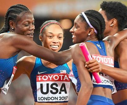 World Athletics PIX: US reclaim 4x400m title, more injury woe for Jamaica