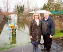 Limerick residents feel like 'sitting ducks' as Shannon floods gardens